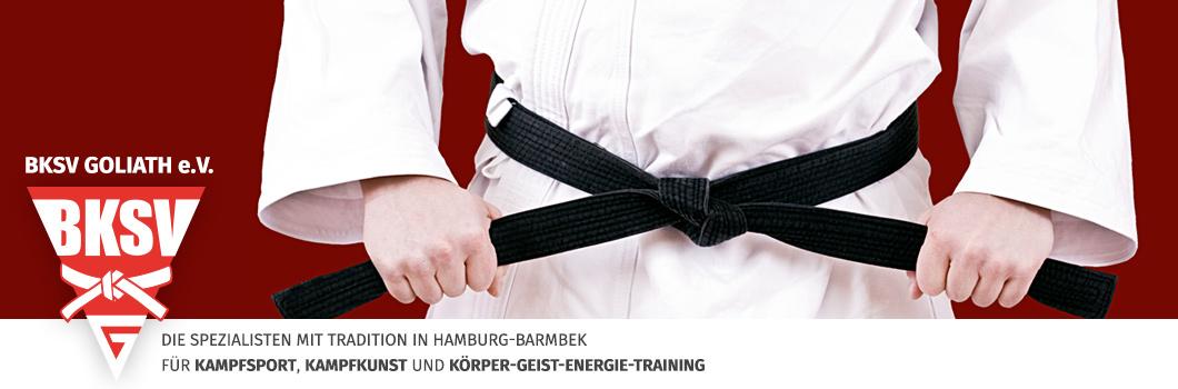 BKSV – Kampfkunst mit Tradition in Hamburg-Barmbek – Sportverein Logo